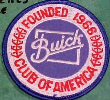 buick club patch