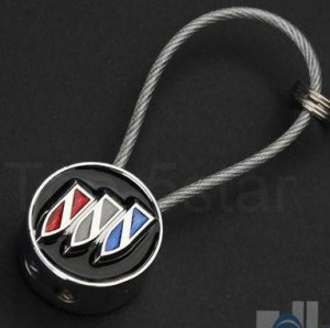 buick metal rope keychain