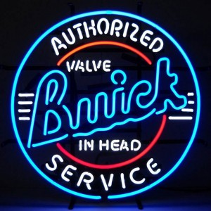 buick service neon light