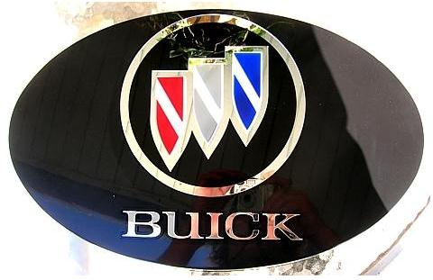 buick tri shield logo sign