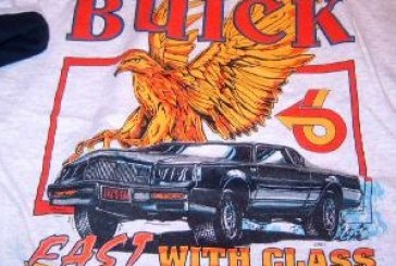 Buick Grand National Racing Shirts