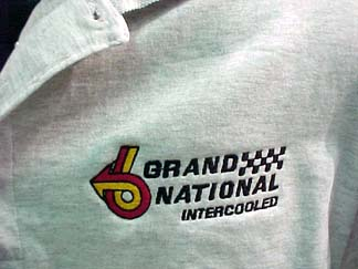 grand national grey polo shirt