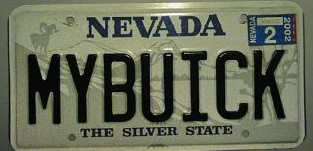 my buick plate