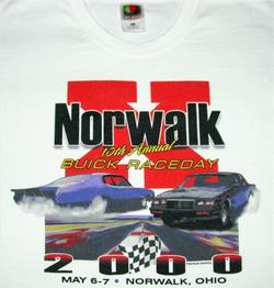 norwalk buick race day shirt