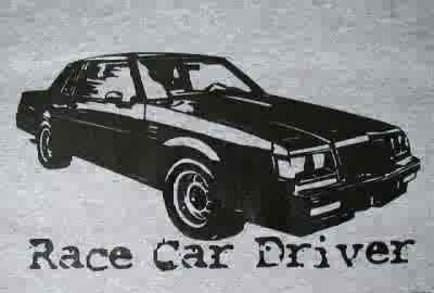 buick race car driver shirt