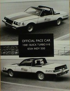 1981 buick regal pace car photo