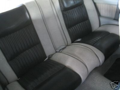 1982 buick gn rear seat