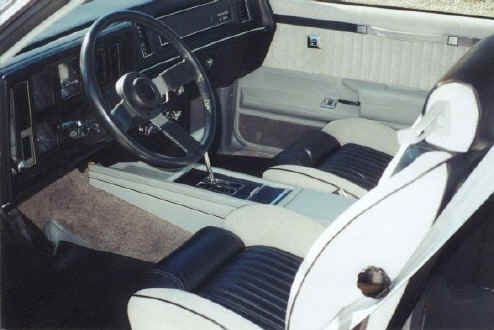 1982 buick regal gn interior
