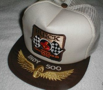 1983 indy 500 hat