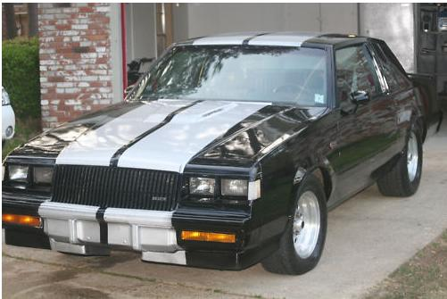 1985 striped buick