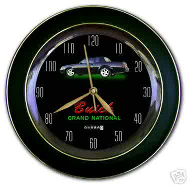 1986 turbo regal speedometer theme clock