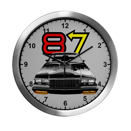 1987 buick wall clock