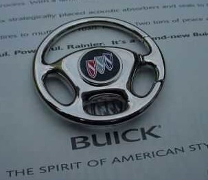 BUICK STEERING WHEEL KEYCHAIN