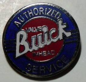 Buick Cloisonne Pin