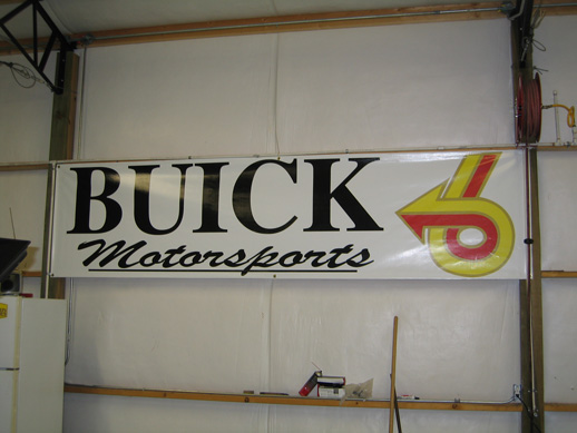 Buick Motorsports big banner 3x12
