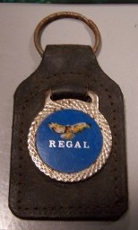 Old Keyring Buick Regal