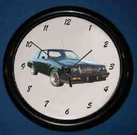 another Buick GN wall clock