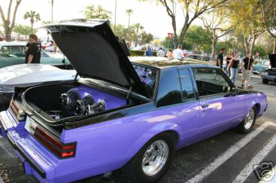 black over purple paint buick grand national