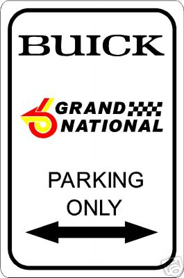 buick GN sign