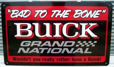 buick garage sign