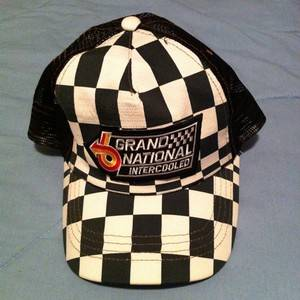 buick gn intercooled checkered hat