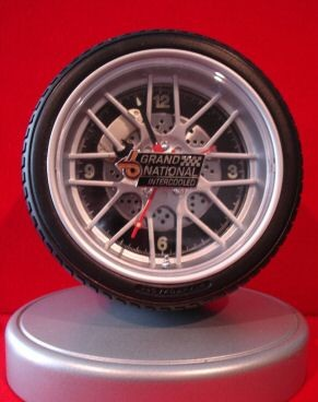 buick grand national emblem desk clock
