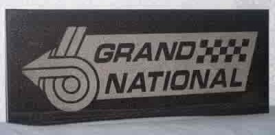 buick grand national granite tile