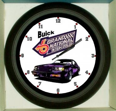 buick grand national intercooled clock