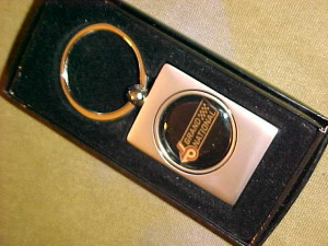buick grand national pewter key ring
