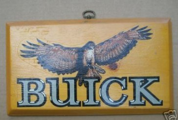 Turbo Buick Regal Plaques: Dash & Decorative Granite