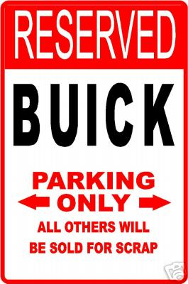 buick parking