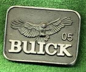 buick plant 5 (transmission)  employee belt buckle