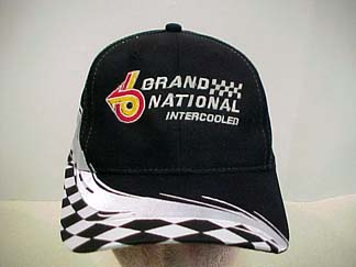 checkered buick grand national hat