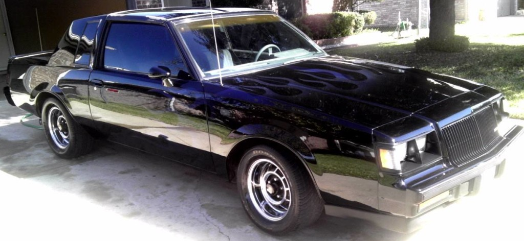 ghost flames on buick grand national