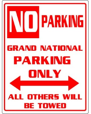 grand national parking only
