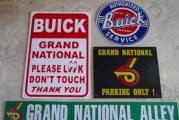 Buick Regal Grand National Sign Collection