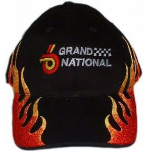 hot flamed buick grand national hat
