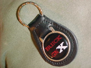 leather buick gnx keyfob