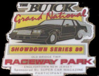 showdown series 89 dash plaque
