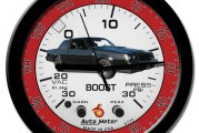 Turbo Buick Regal Themed Clocks