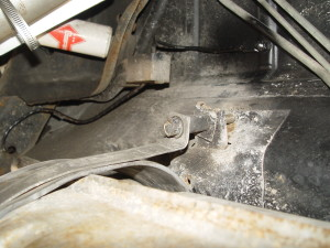 front side gas straps