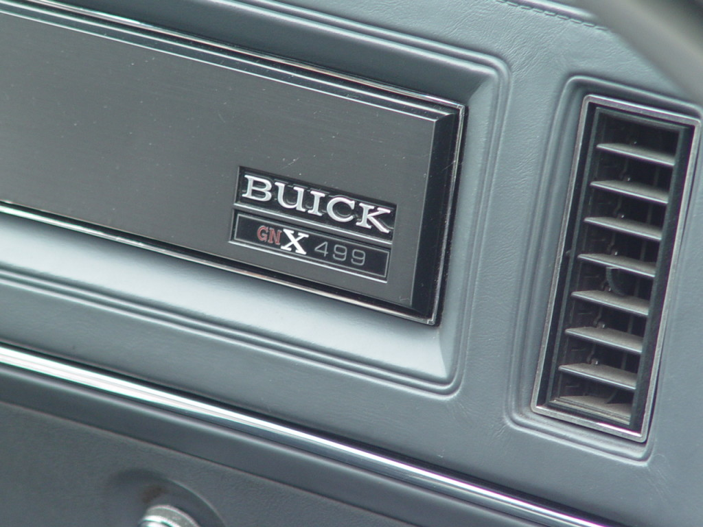 Buick GNX 499