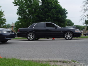 mercury marauder at gratiot cruise