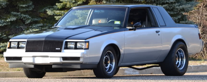 buick regal t-type two tone
