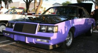 buick turbo t custom paint