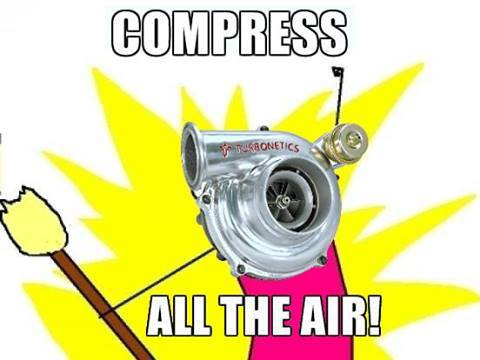 compress air