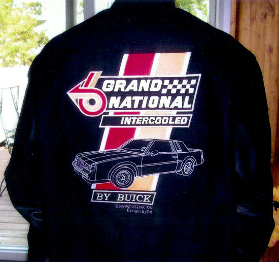 custom buick grand national jacket