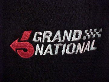 molly buick grand national sweater close up