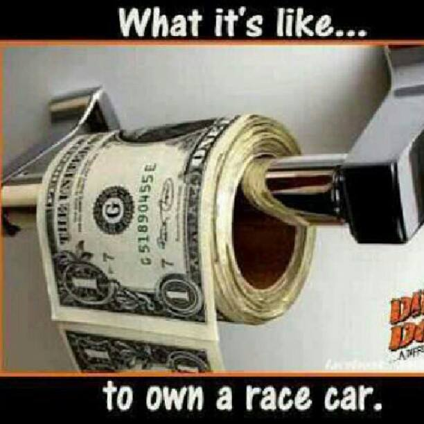own a race car