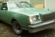 1978 Buick Regal Sport Coupe Turbo Teal
